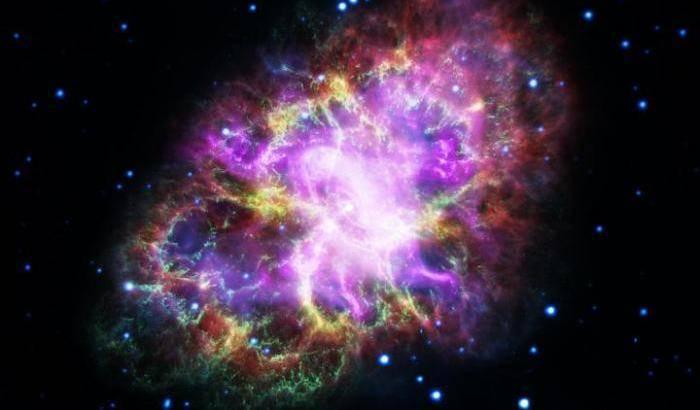 Nel cuore della Nebulosa del Granchio