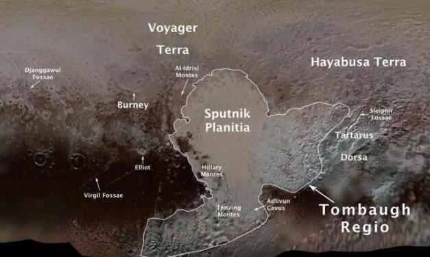Nomenclatura ufficiale per Plutone