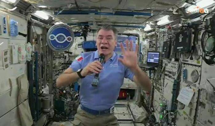Paolo Nespoli: l'ultima inflight call