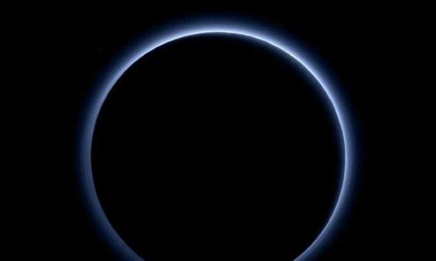 Plutone, termometro in picchiata