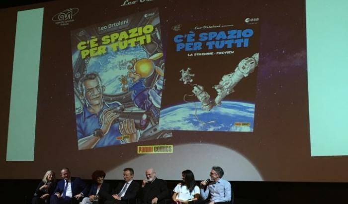 Rat-man in orbita con l'astronauta Paolo Nespoli