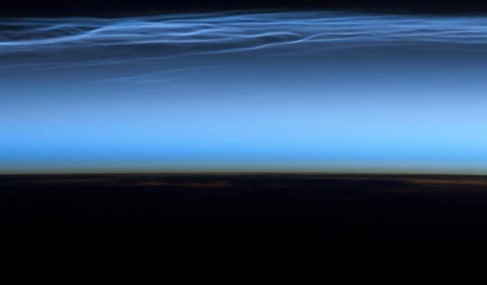 Razzi dall'Alaska alla scoperta delle nubi nottilucenti