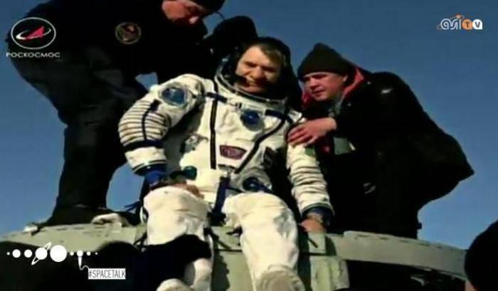 #SpaceTalk: Torna a casa Nespoli
