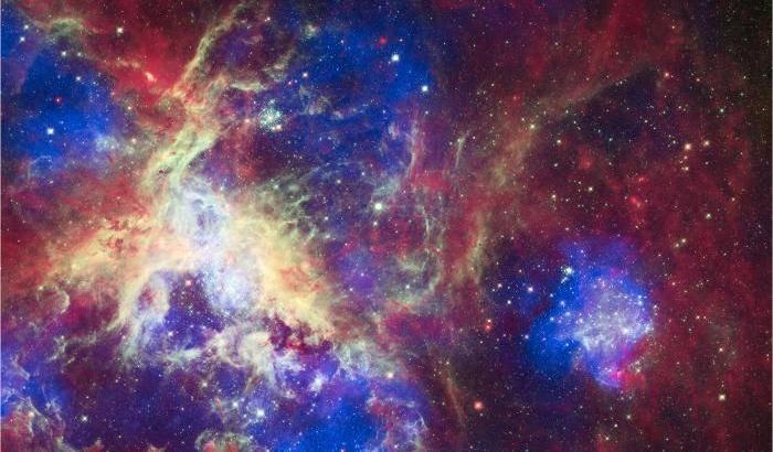 Stelle 'extra large' per la Nebulosa Tarantola