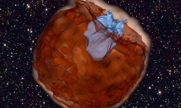 Supernova, morte quasi in diretta di una stella