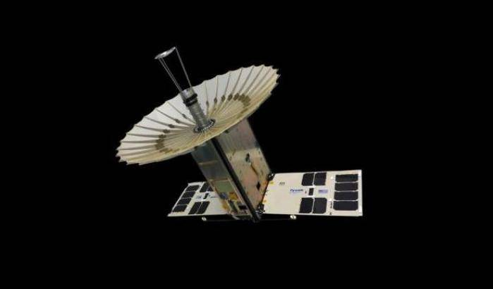 Tris di CubeSat