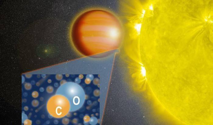Un 'hot Jupiter' fuori dagli schemi