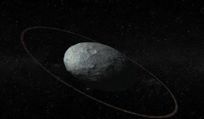 Un anello per Haumea
