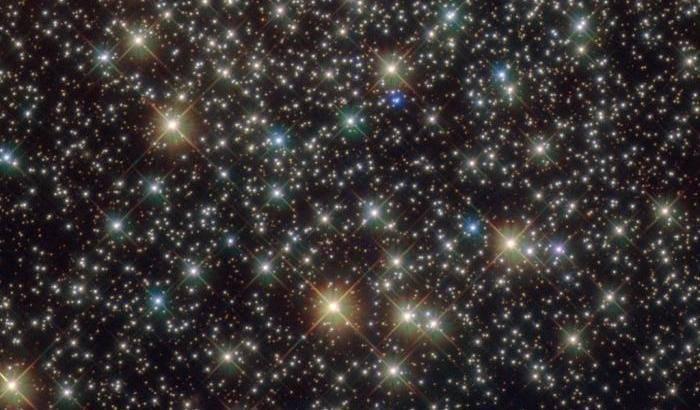 Un cluster 'velocista' per Hubble