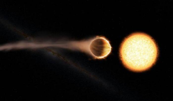 Un esopianeta 'stratosferico'