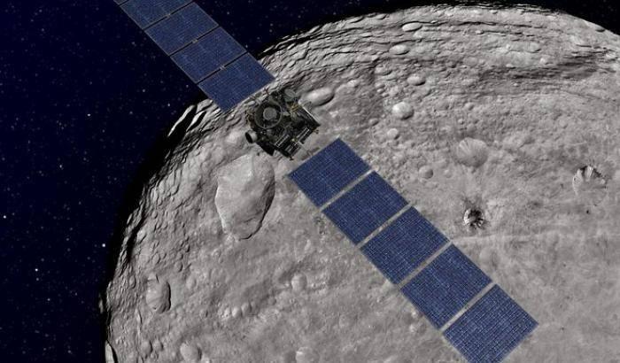 Un radar nel cuore di Vesta
