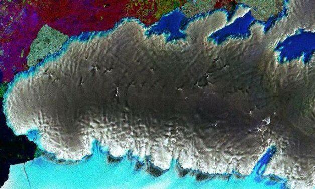Una 'sentinella' su  Thurston Island