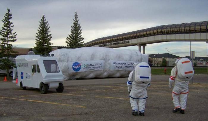 Una sfida per gli habitat spaziali