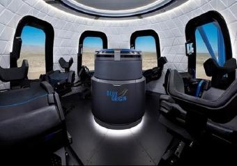 Blue Origin, una finestra sullo spazio