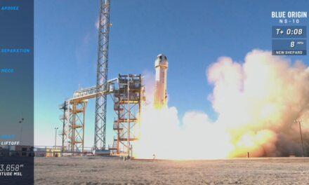 Blue Origin verso il primo volo umano