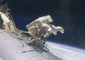 Passeggiata spaziale quota 200