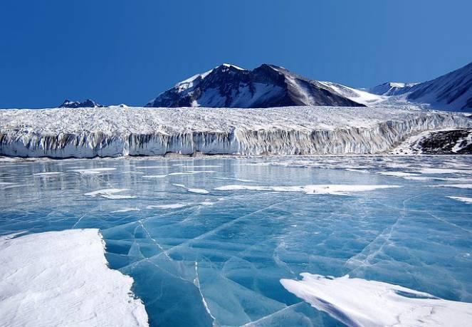 Ghiacci in Antartide, il ruolo dell'asse terrestre