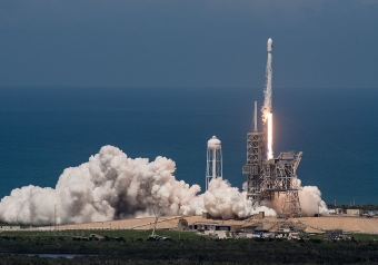 SpaceX, week end da record