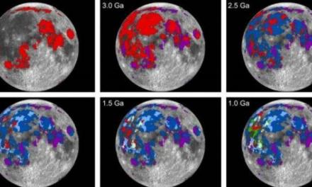 L'antica atmosfera della Luna