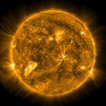 Onde magnetiche dal cuore del Sole
