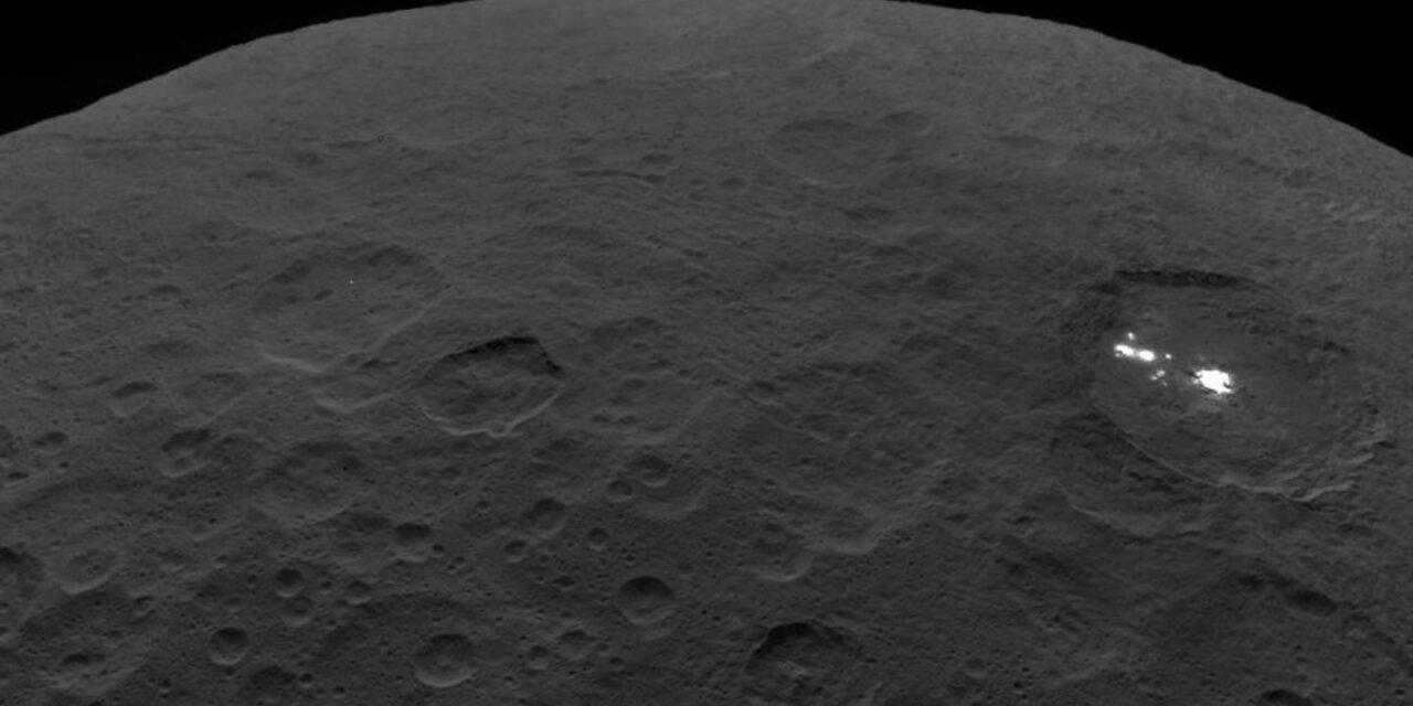 Nuova luce sui criovulcani di Cerere