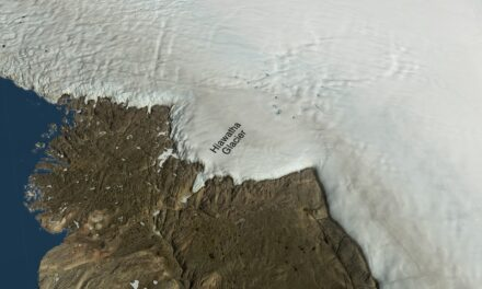 Groenlandia, cratere da guinness