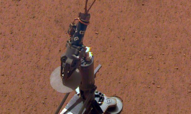 InSight mette il termometro a Marte