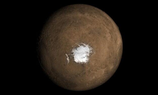 Marte, sottosuolo in fermento