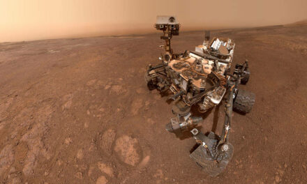 Curiosity saluta il Vera Rubin Ridge
