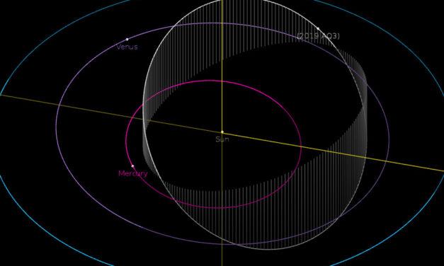L'asteroide vicino al Sole
