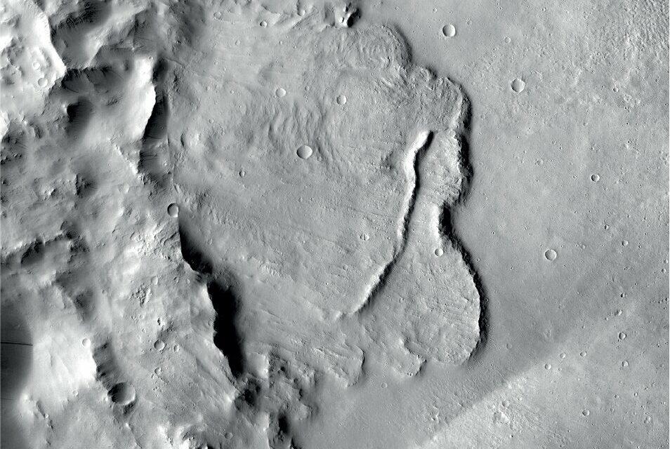 Una rete di laghi su Marte