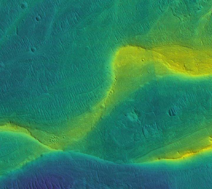 Marte, fiumi più recenti del previsto