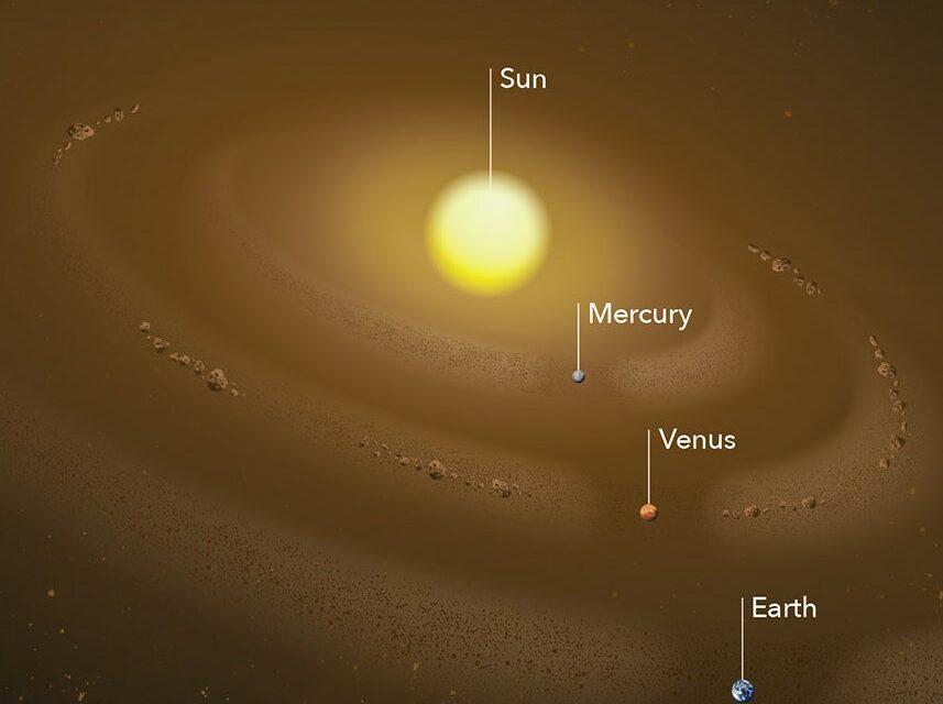 Sistema Solare interno, occhi puntati sulle polveri