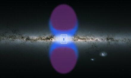 Le colonne della Via Lattea