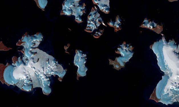 Meno ghiaccio, più acqua: il cambiamento climatico visto dall'alto