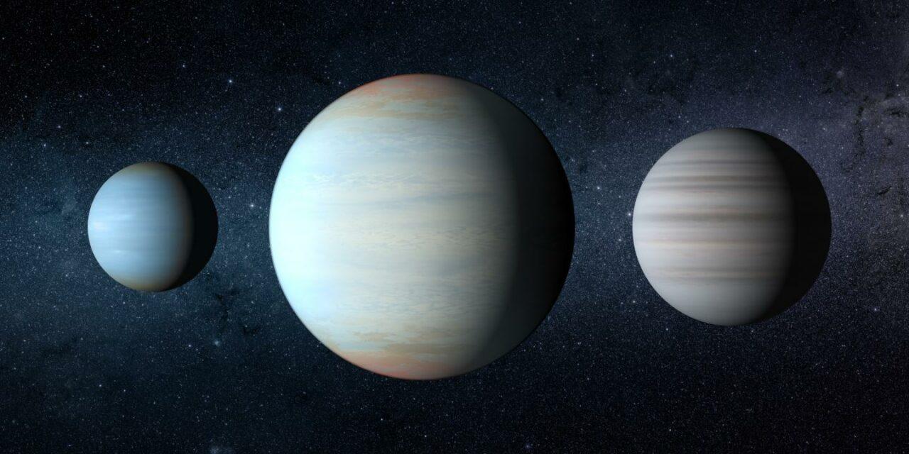 Tre pianeti per due soli