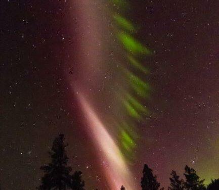 Steve, un'aurora boreale atipica