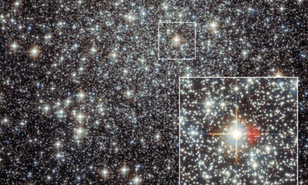 Un oggetto celeste vintage nel 'cuore' di Messier 22