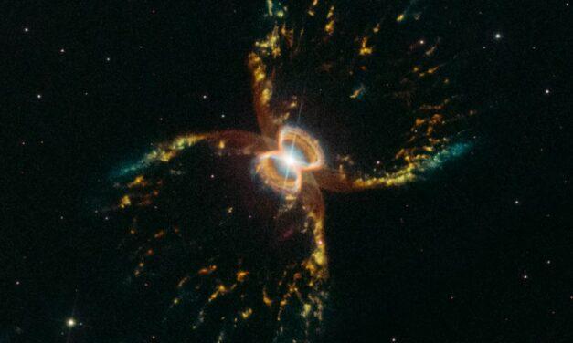 'Granchio' in festa per Hubble