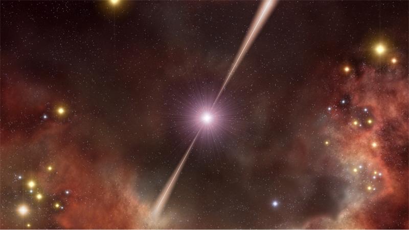 Ecco dove nasce la luce dei lampi gamma