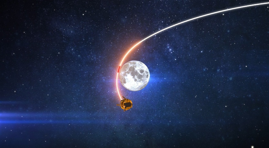 Beresheet, Isreale entra in orbita lunare