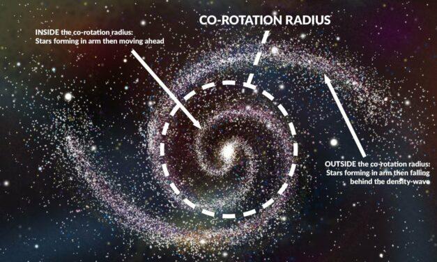 'Traffico' congestionato nelle galassie a spirale
