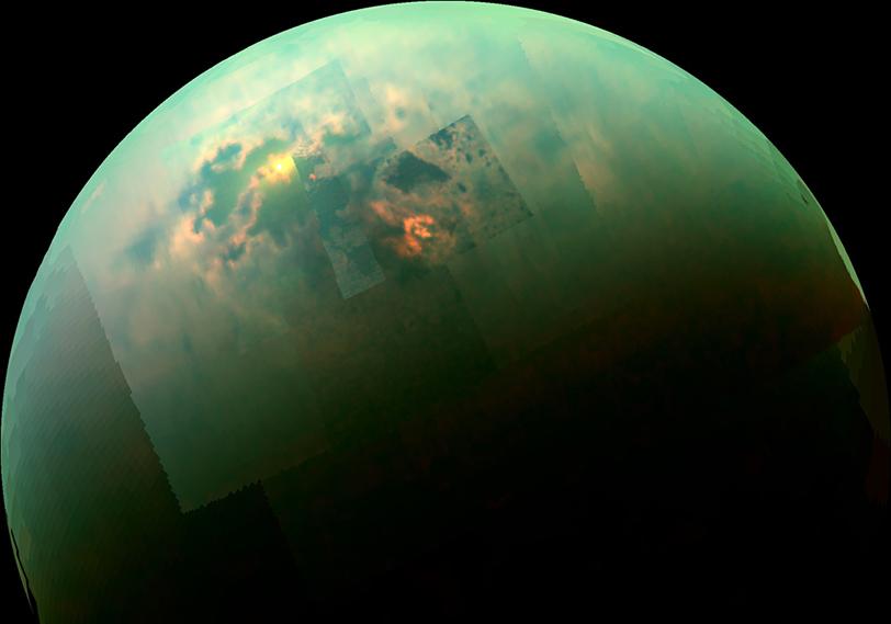 Titano: piccoli e profondi laghi di metano