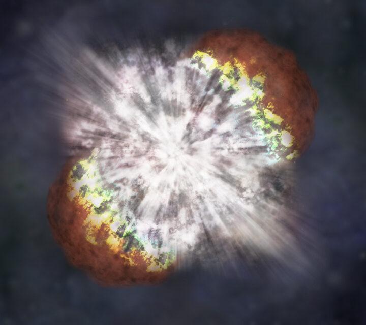 L'estinzione di massa causata da una supernova