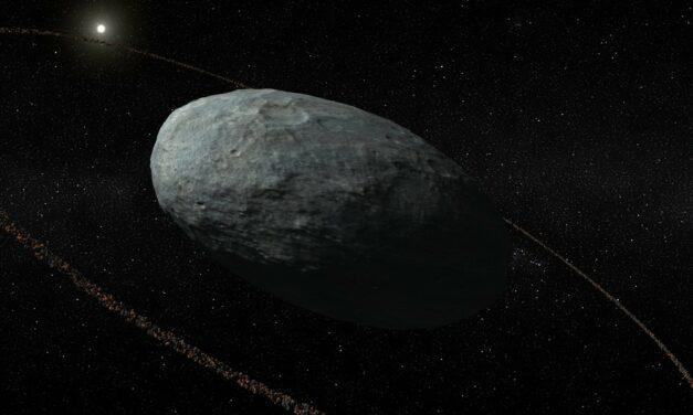 Il misterioso anello di Haumea