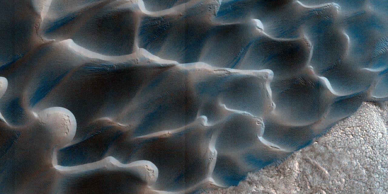 Il ritmo pacato delle sabbie di Marte
