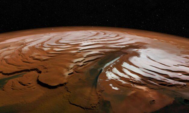 L'acqua e il fuoco di Marte