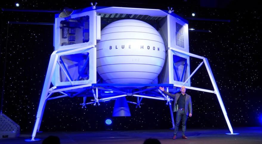 Ecco il lander lunare Blue Moon di Jeff Bezos