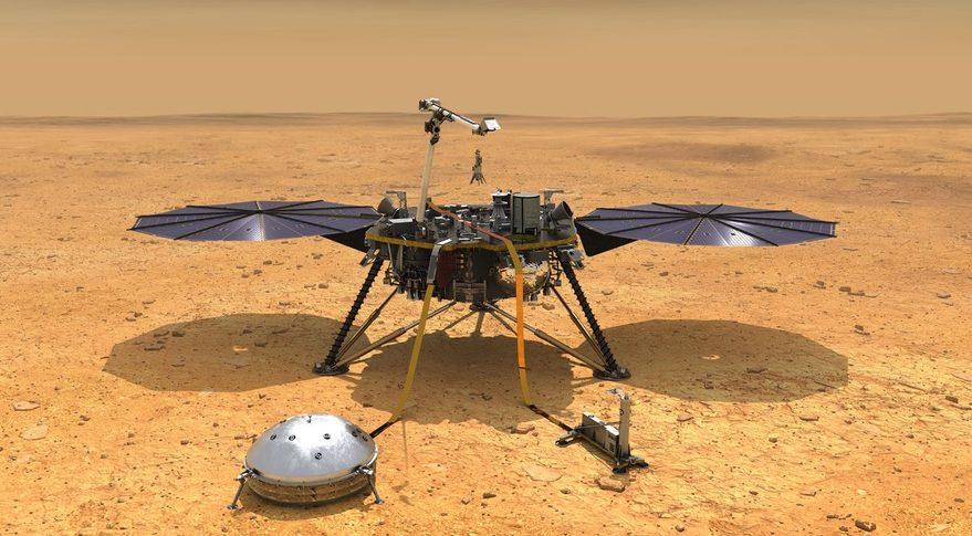 Marte, ferma la talpa di Insight