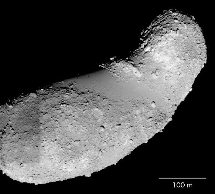 Hayabusa, trovata acqua sull'asteroide Itokawa